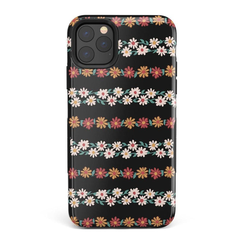 Totally Rad | Daisy Print Case iPhone Case Get.Casely Bold iPhone 11 Pro Max