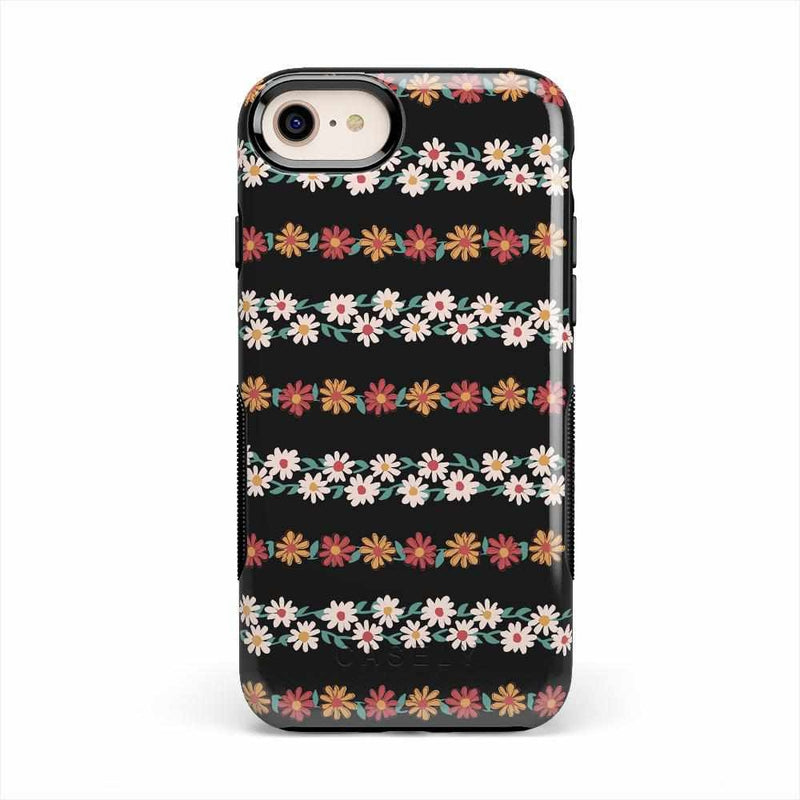 Totally Rad | Daisy Print Case iPhone Case Get.Casely Bold iPhone 8