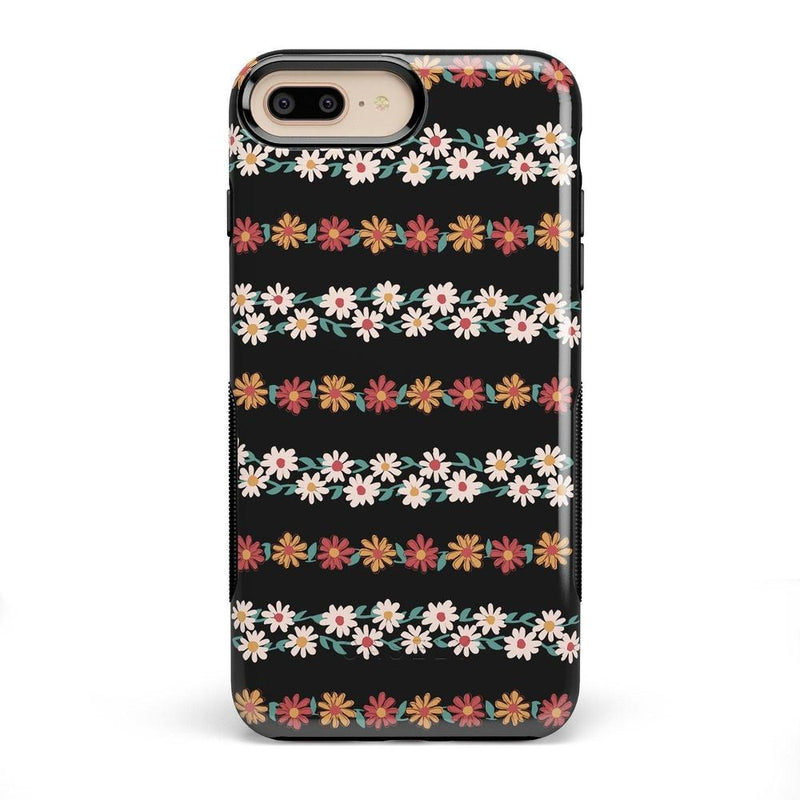 Totally Rad | Daisy Print Case iPhone Case Get.Casely Bold iPhone 8 Plus