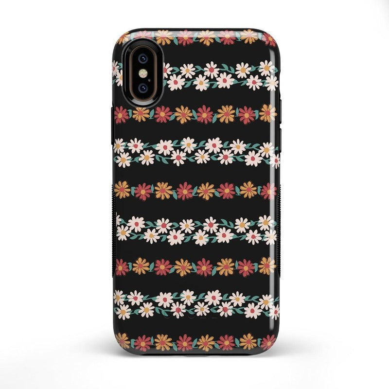 Totally Rad | Daisy Print Case iPhone Case Get.Casely Bold iPhone X / XS