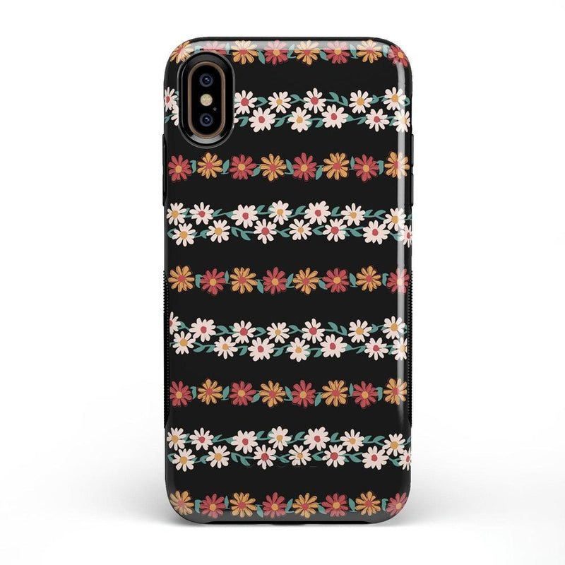 Totally Rad | Daisy Print Case iPhone Case Get.Casely Bold iPhone XS Max