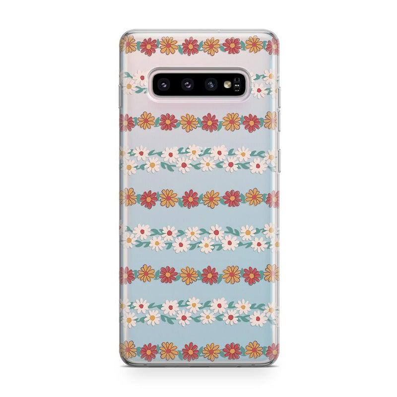 Totally Rad | Daisy Print Case iPhone Case Get.Casely Classic Galaxy S10 Plus