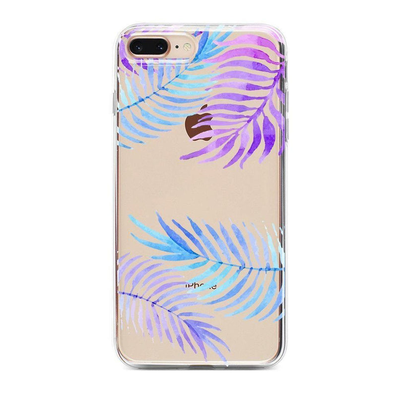 Tropical Blue Palm Leaves iPhone Case iPhone Case Get.Casely Classic iPhone 6/6s Plus