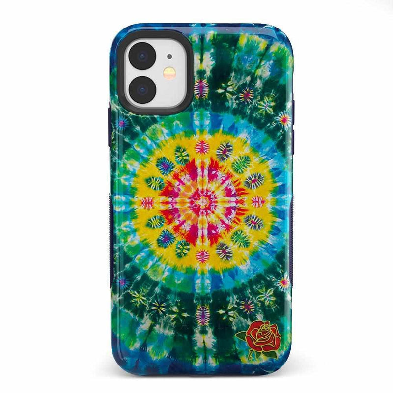 Veneta Tapestry | Grateful Dead Tie Dye Case iPhone Case get.casely Bold iPhone 11
