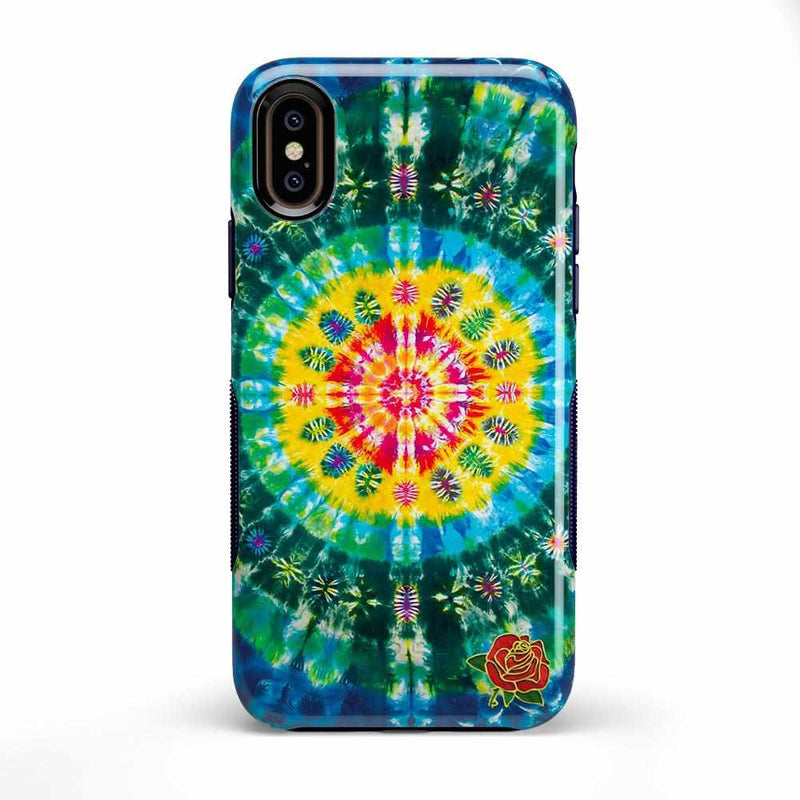 Veneta Tapestry | Grateful Dead Tie Dye Case iPhone Case get.casely Bold iPhone XS Max