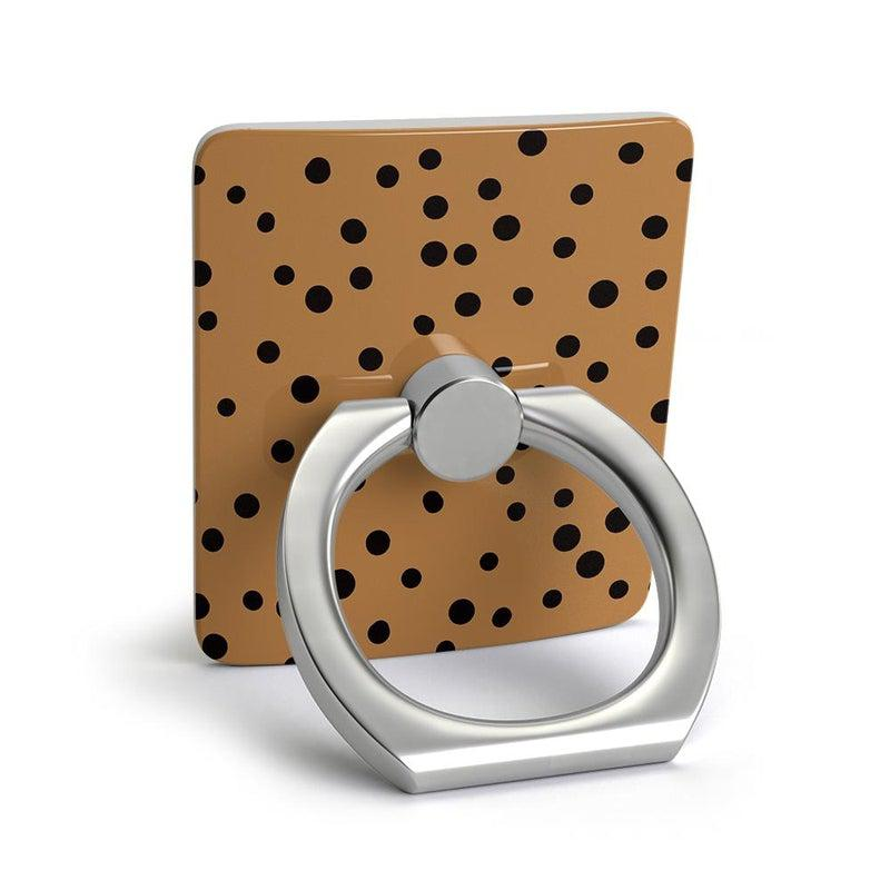 Spot On | Dotted Animal Print Phone Ring