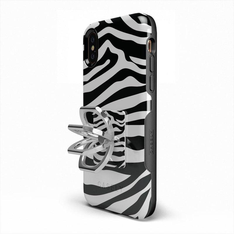 Into the Wild | Zebra Print Phone Ring