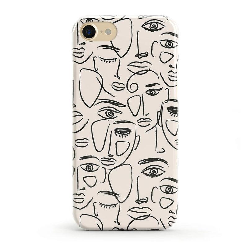 We're All Human | Minimal Face Art Case iPhone Case get.casely Classic iPhone SE (2020)