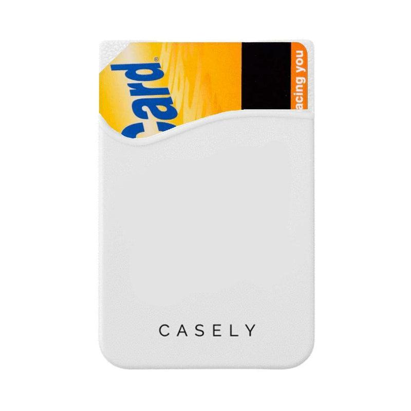 White Silicon Wallet Wallet get.casely