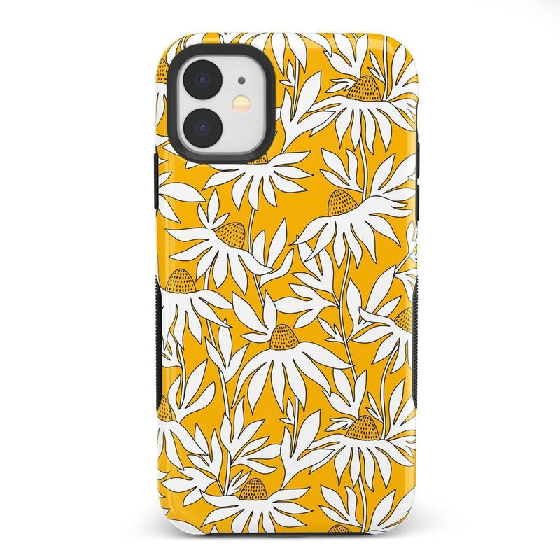Wild About You | Yellow Floral Case iPhone Case get.casely Bold iPhone 11