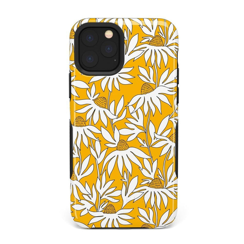 Wild About You | Yellow Floral Case iPhone Case get.casely Bold iPhone 11 Pro Max