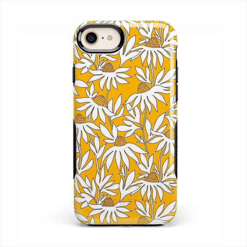 Wild About You | Yellow Floral Case iPhone Case get.casely Bold iPhone SE (2020)