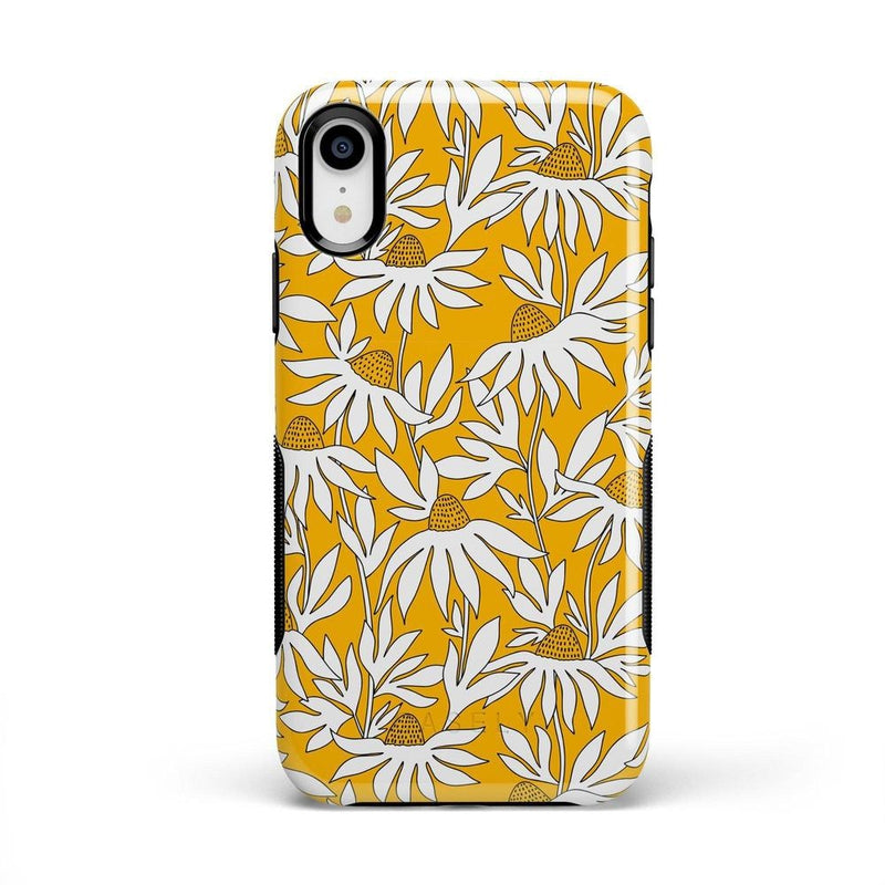 Wild About You | Yellow Floral Case iPhone Case get.casely Bold iPhone XR