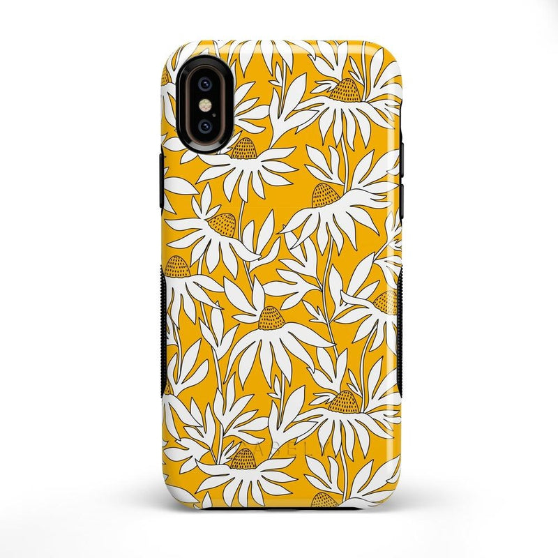 Wild About You | Yellow Floral Case iPhone Case get.casely Bold iPhone XS Max