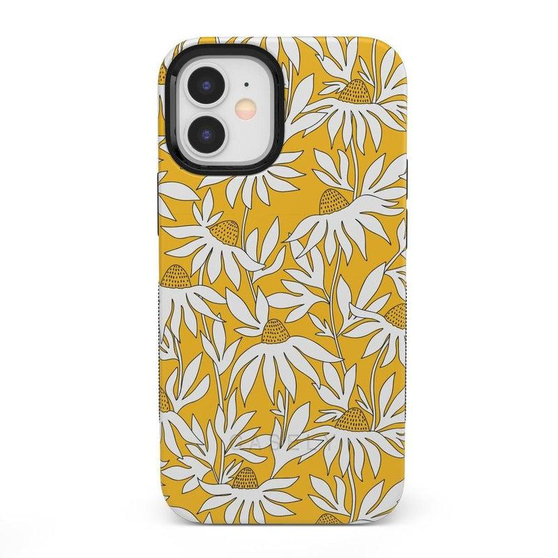 Wild About You | Yellow Floral Case iPhone Case get.casely Bold + MagSafe® iPhone 12