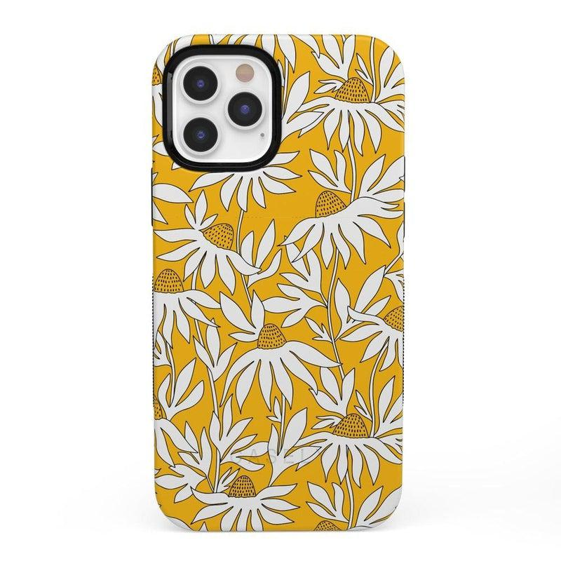 Wild About You | Yellow Floral Case iPhone Case get.casely Bold + MagSafe® iPhone 12 Pro Max