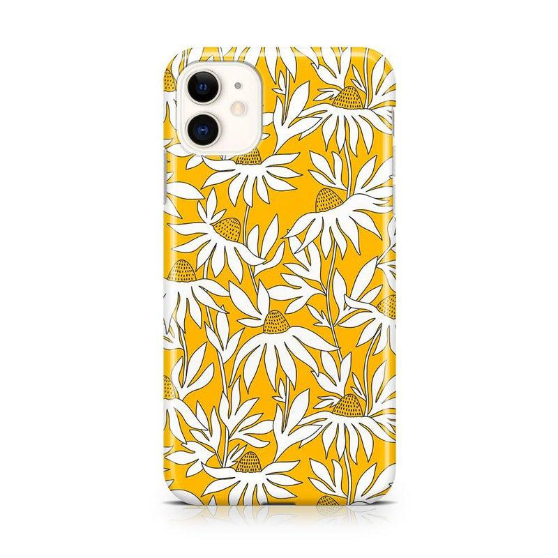 Wild About You | Yellow Floral Case iPhone Case get.casely Classic iPhone 11