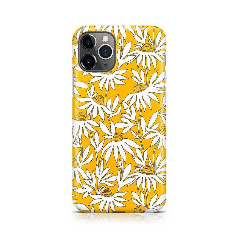 Wild About You | Yellow Floral Case iPhone Case get.casely Classic iPhone 11 Pro Max