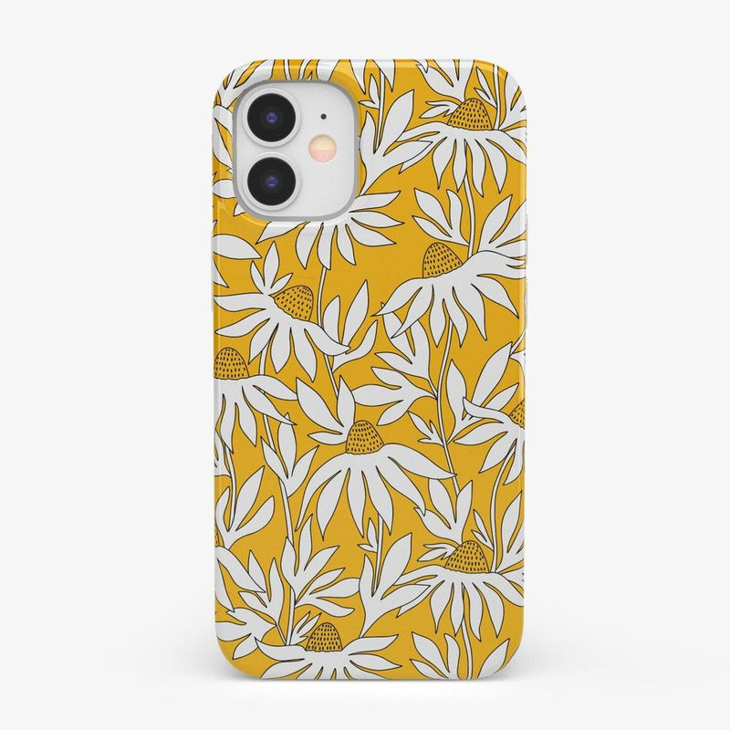 Wild About You | Yellow Floral Case iPhone Case get.casely Classic iPhone 12