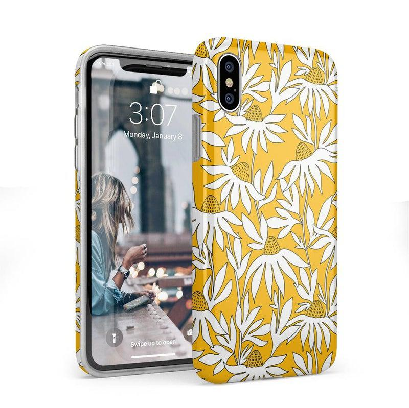 Wild About You | Yellow Floral Case iPhone Case get.casely Classic iPhone X / XS