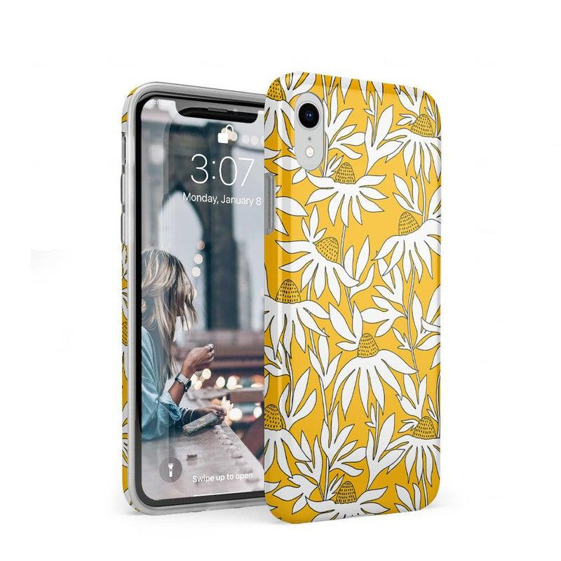 Wild About You | Yellow Floral Case iPhone Case get.casely Classic iPhone XR