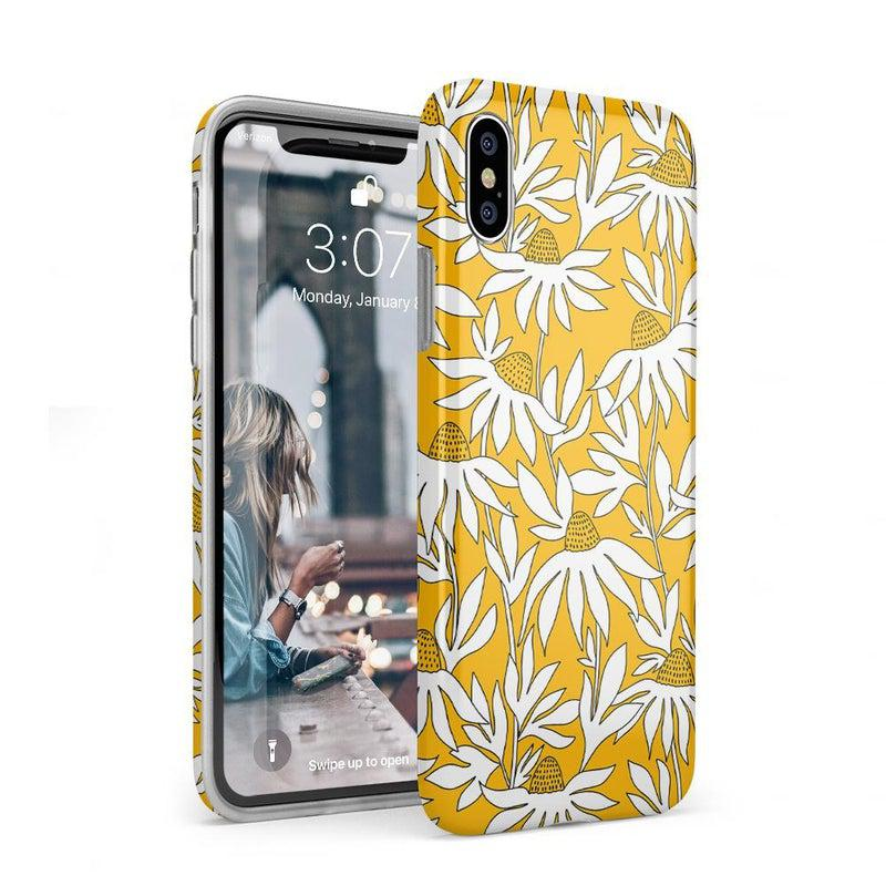 Wild About You | Yellow Floral Case iPhone Case get.casely Classic iPhone XS Max