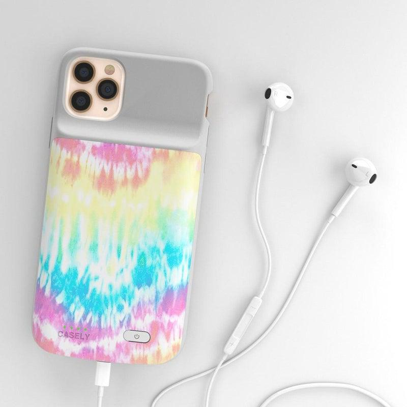 Wild & Free Classic Rainbow Tie Dye iPhone Case iPhone Case get.ca