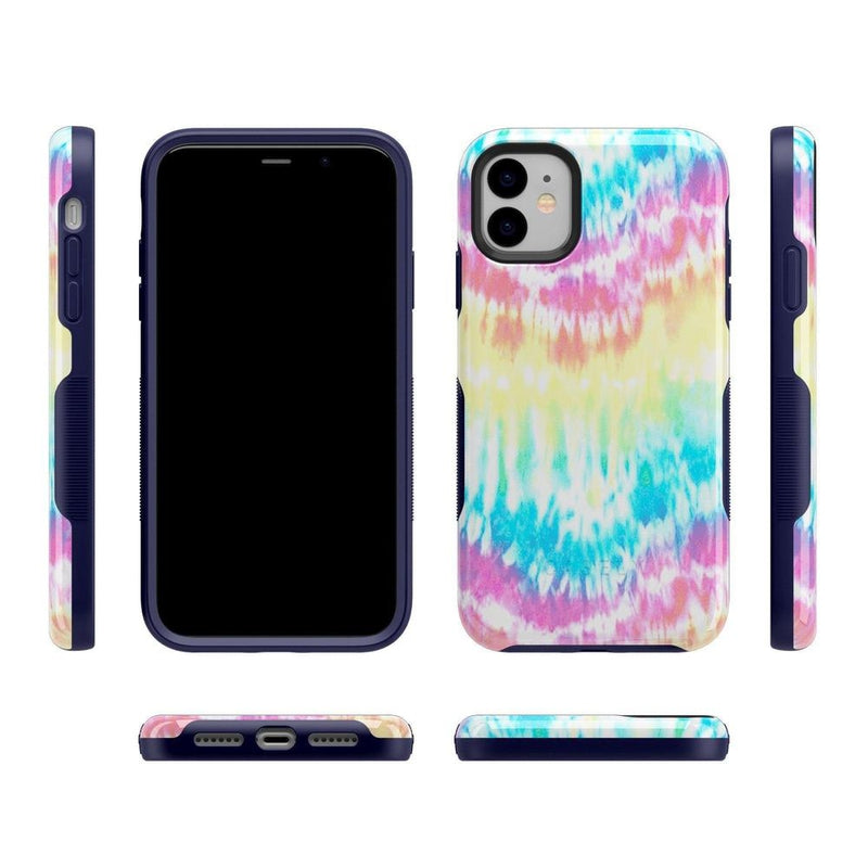 Wild & Free Classic Rainbow Tie Dye iPhone Case iPhone Case Get.Casely