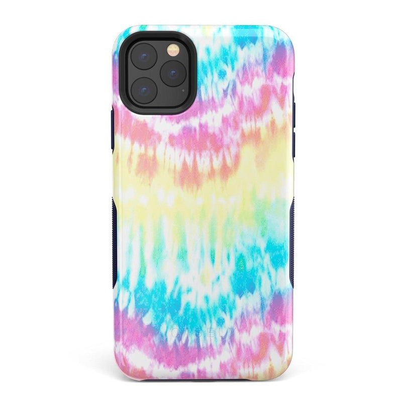 Wild & Free Classic Rainbow Tie Dye iPhone Case iPhone Case Get.Casely Bold iPhone 11 Pro