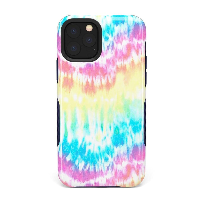 Wild & Free Classic Rainbow Tie Dye iPhone Case iPhone Case Get.Casely Bold iPhone 11 Pro Max