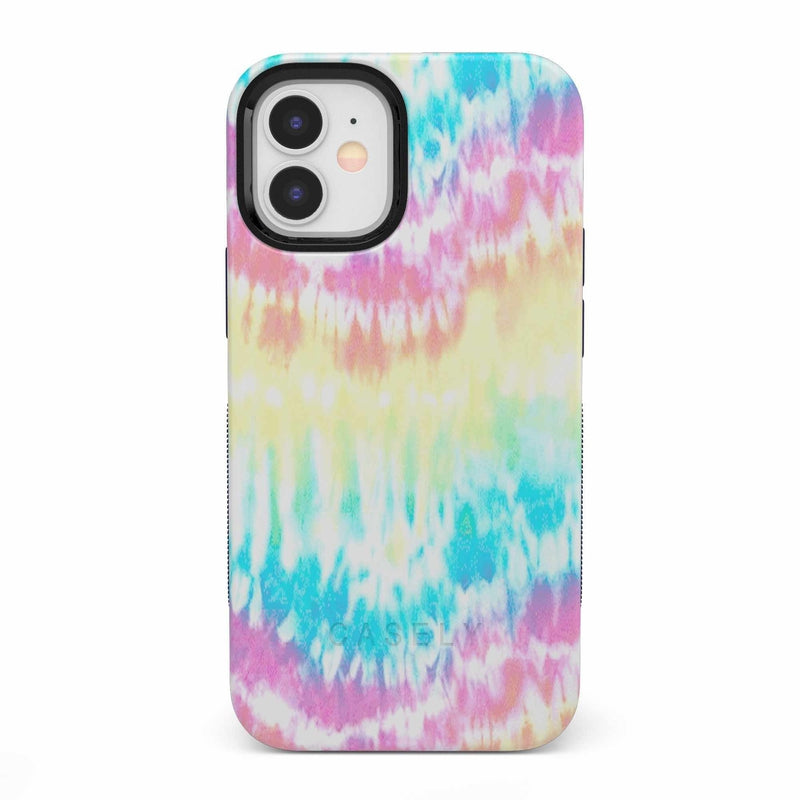 Wild & Free Classic Rainbow Tie Dye iPhone Case iPhone Case get.casely Bold iPhone 12 Mini