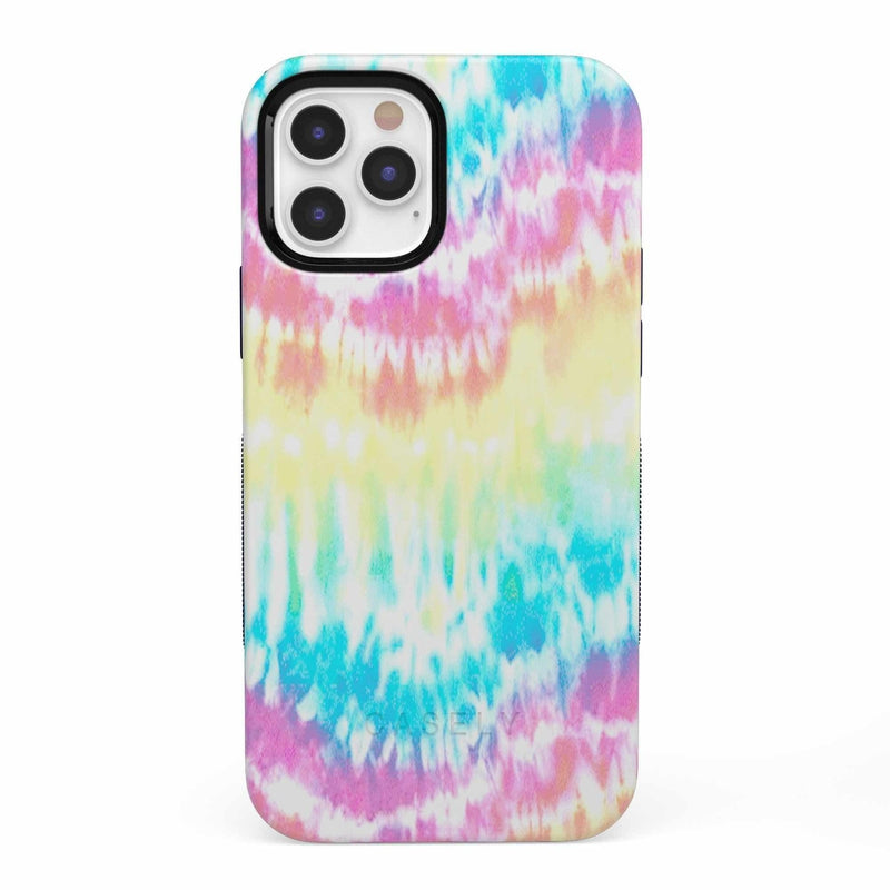 Wild & Free Classic Rainbow Tie Dye iPhone Case iPhone Case get.casely Bold iPhone 12 Pro