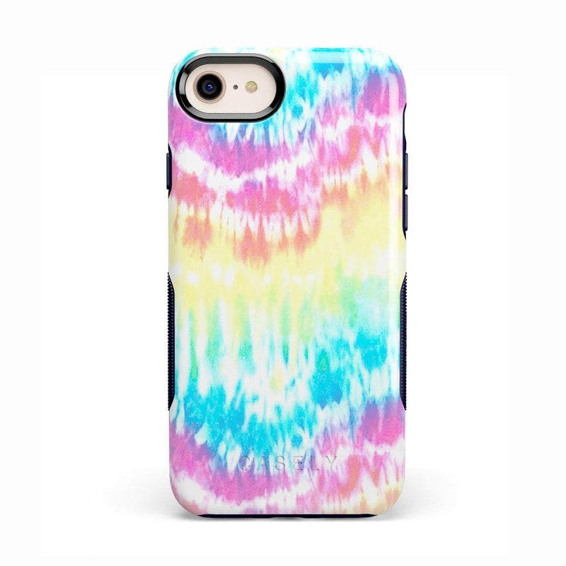 Wild & Free Classic Rainbow Tie Dye iPhone Case iPhone Case Get.Casely Bold iPhone 8