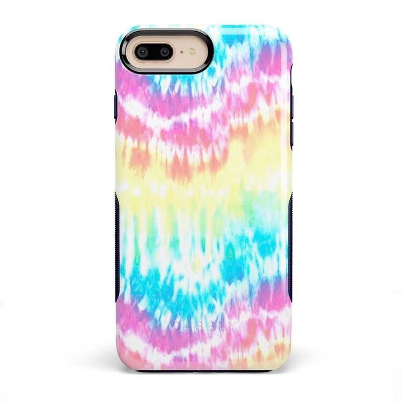 Wild & Free Classic Rainbow Tie Dye iPhone Case iPhone Case Get.Casely Bold iPhone 8 Plus