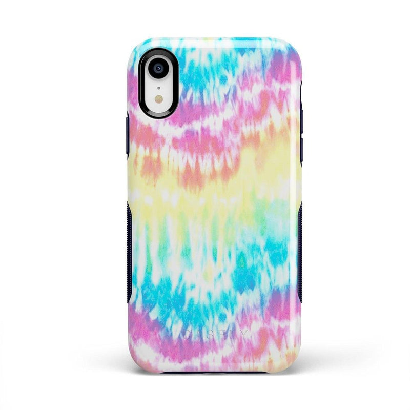 Wild & Free Classic Rainbow Tie Dye iPhone Case iPhone Case Get.Casely Bold iPhone XR
