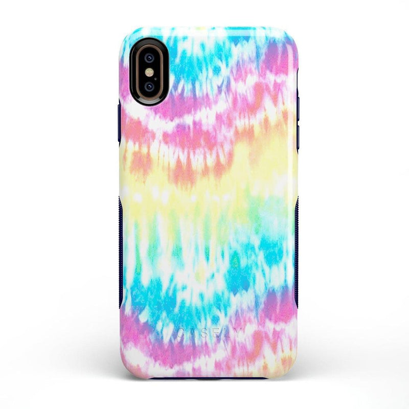 Wild & Free Classic Rainbow Tie Dye iPhone Case iPhone Case Get.Casely Bold iPhone XS Max