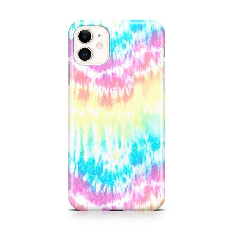 Wild & Free Classic Rainbow Tie Dye iPhone Case iPhone Case Get.Casely Classic iPhone 11