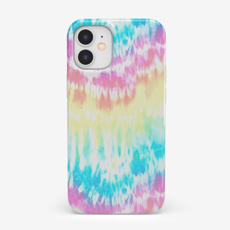 Wild & Free Classic Rainbow Tie Dye iPhone Case iPhone Case get.casely Classic iPhone 12 Mini