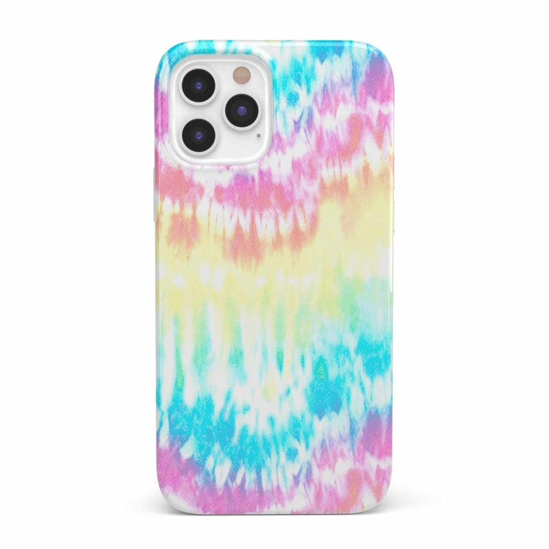 Wild & Free Classic Rainbow Tie Dye iPhone Case iPhone Case get.casely Classic iPhone 12 Pro