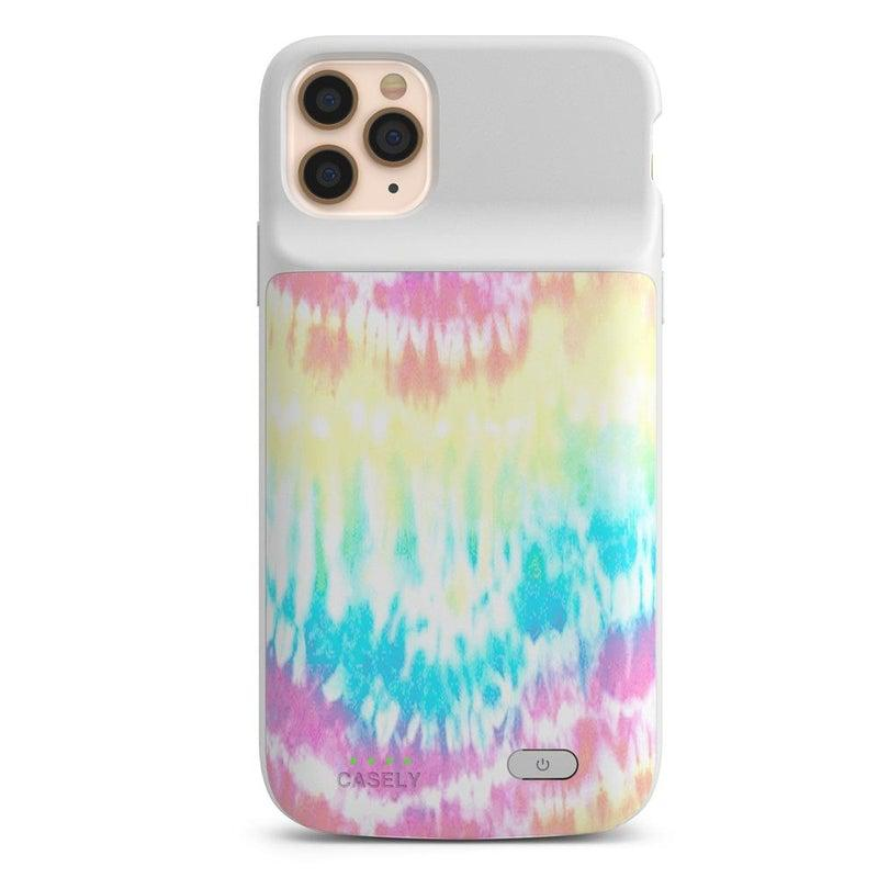 Wild & Free Classic Rainbow Tie Dye iPhone Case iPhone Case get.casely Power 2.0 iPhone 12 Pro