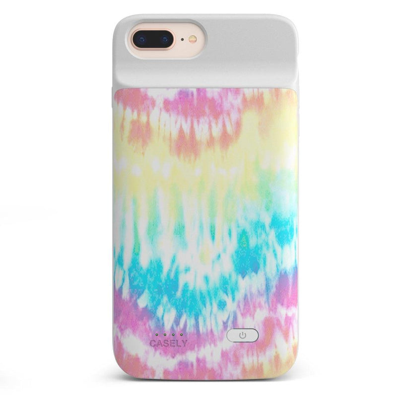 Wild & Free Classic Rainbow Tie Dye iPhone Case iPhone Case get.casely Power 2.0 iPhone 8 Plus