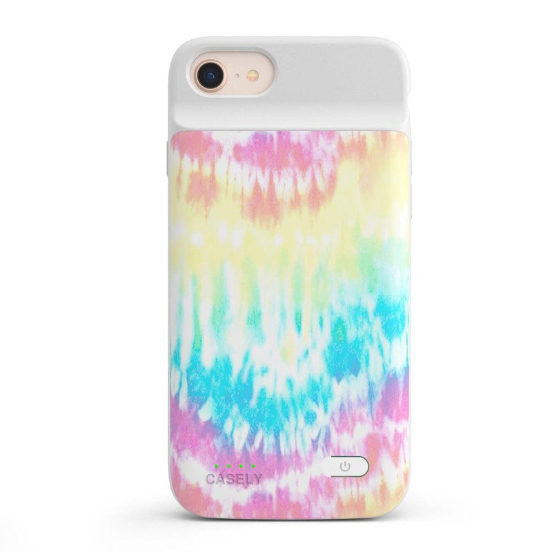 Wild & Free Classic Rainbow Tie Dye iPhone Case iPhone Case get.casely Power 2.0 iPhone SE (2020)