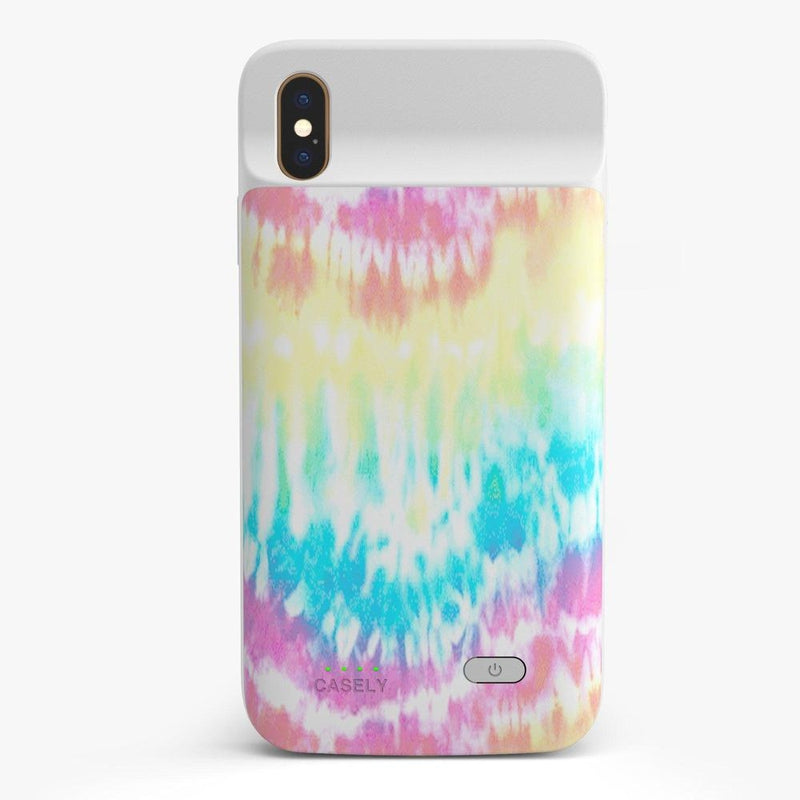 Wild & Free Classic Rainbow Tie Dye iPhone Case iPhone Case get.casely Power 2.0 iPhone XS Max