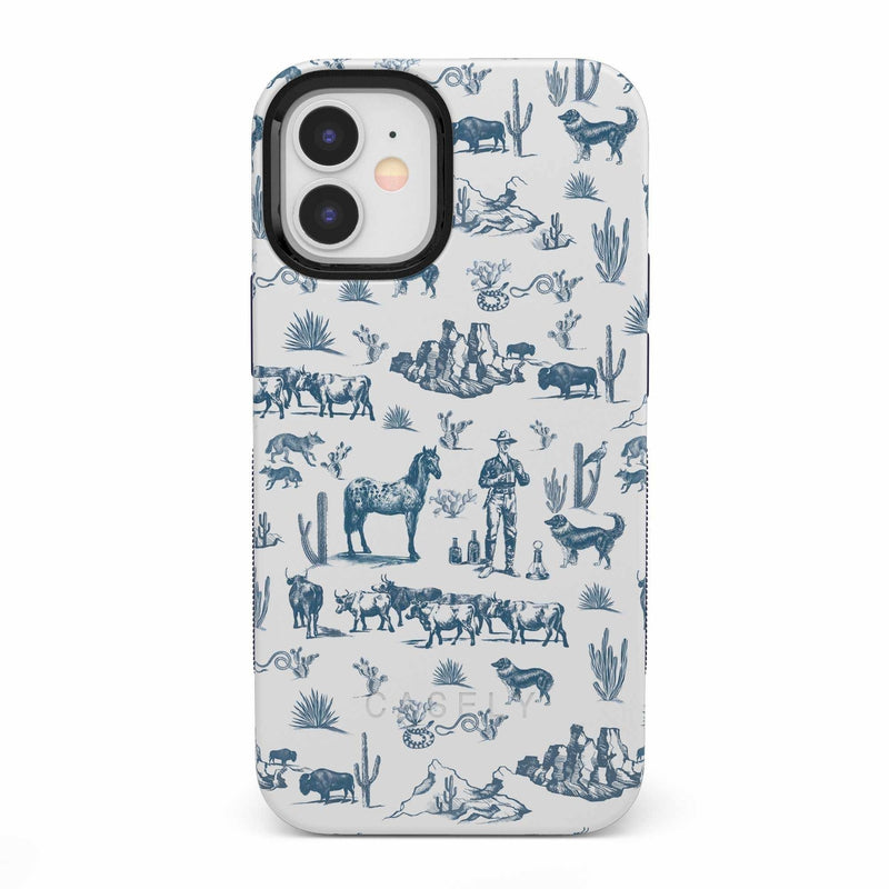 Wild West Adventure | Desert Case iPhone Case get.casely Bold iPhone 12 Mini