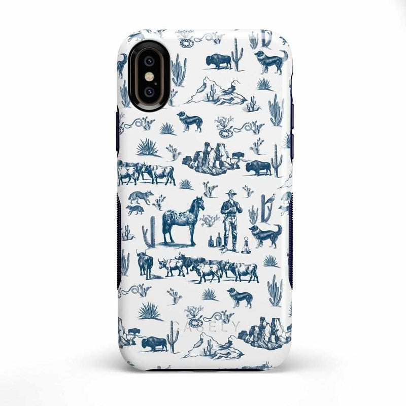 Wild West Adventure | Desert Case iPhone Case get.casely Bold iPhone X / XS