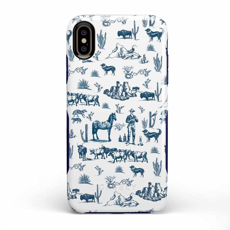 Wild West Adventure | Desert Case iPhone Case get.casely Bold iPhone XS Max