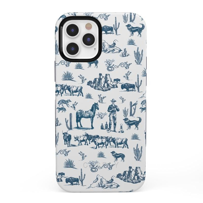 Wild West Adventure | Desert Case iPhone Case get.casely Bold + MagSafe® iPhone 12 Pro
