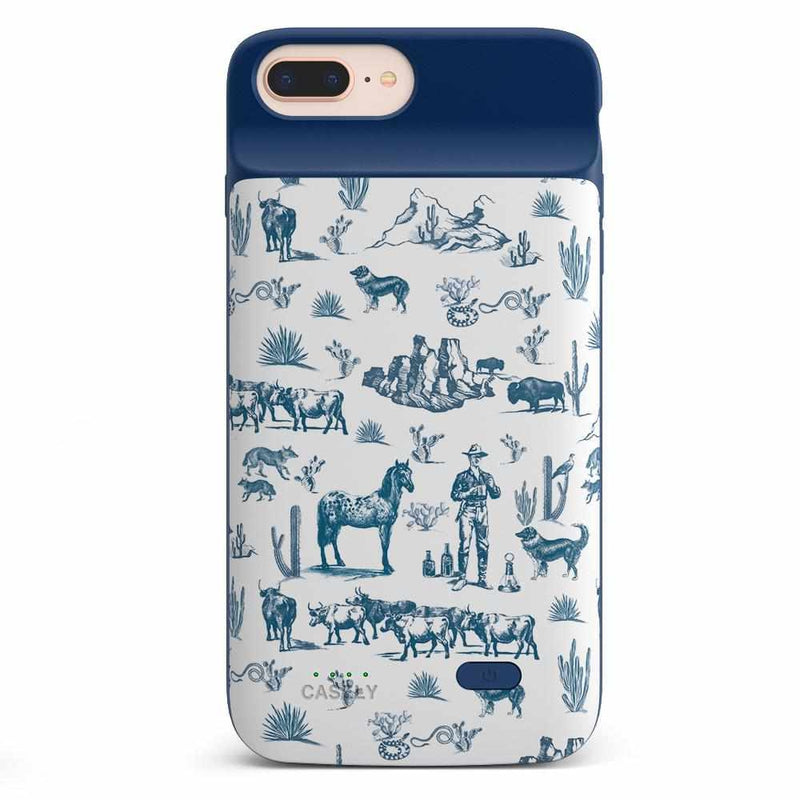 Wild West Adventure | Desert Case iPhone Case get.casely Power 2.0 iPhone 8 Plus