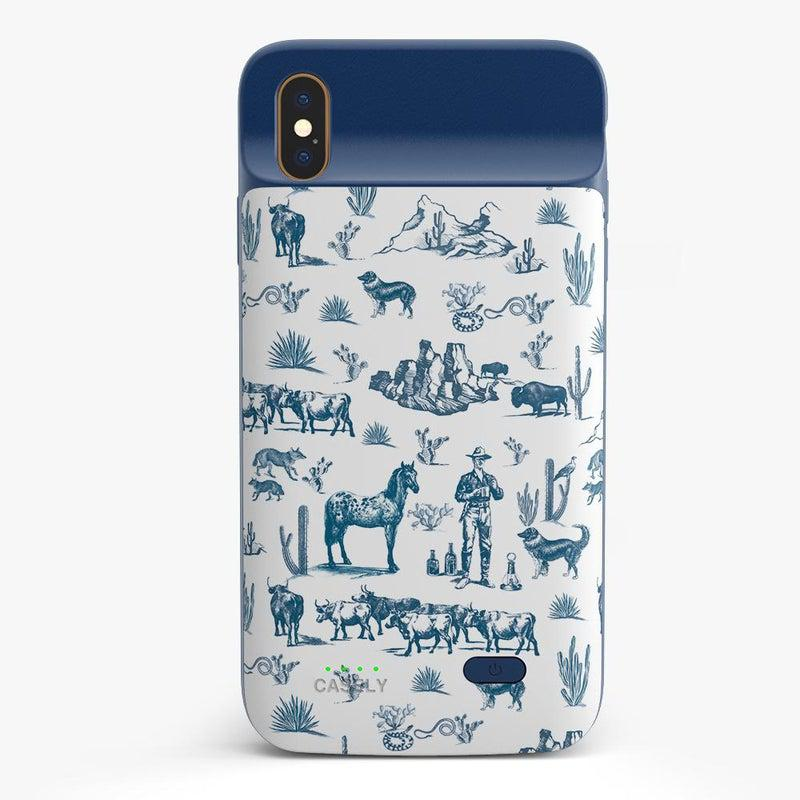 Wild West Adventure | Desert Case iPhone Case get.casely Power 2.0 iPhone XS Max