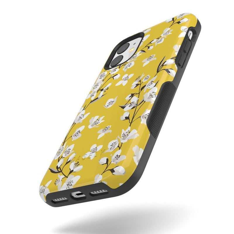 Yellow Flower Power Floral Case iPhone Case Get.Casely